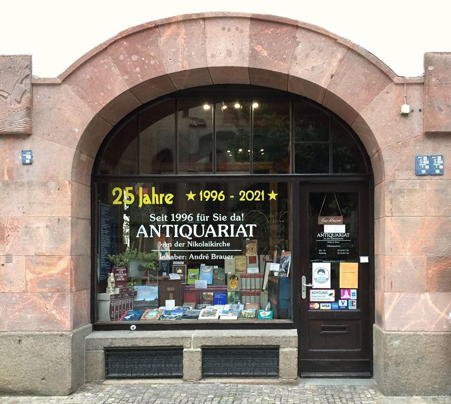 25 Jahre Antiquariat an der Nikolaikirche
